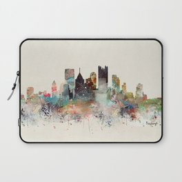 pittsburgh city skyline Laptop Sleeve