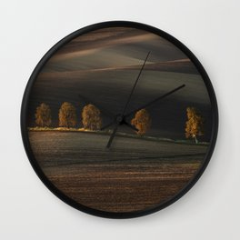 Postcards from Moravia Wall Clock