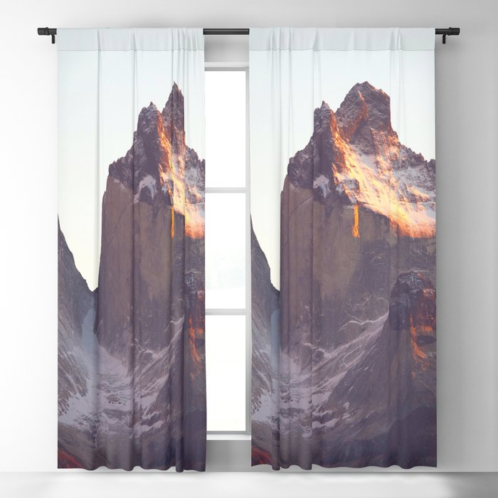 Torres Del Paine National Park Chile Ultra HD Blackout Curtain