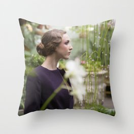 Julia in Great Expectations Throw Pillow