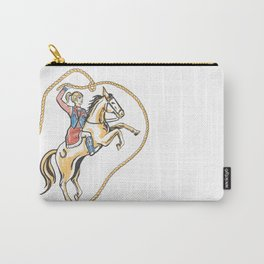 Ride 'em Cowgirl! Carry-All Pouch
