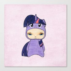 A Boy - Twilight Sparkle Canvas Print