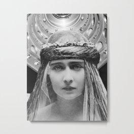 Mesmerized Metal Print