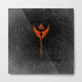 Vikings Valkyrie of Freya Metal Print