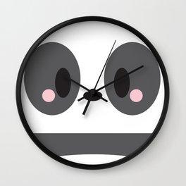 Panda Block Wall Clock