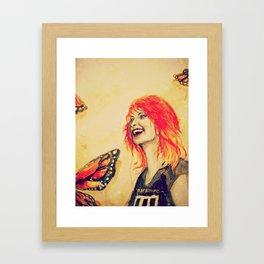 Hayley Williams Framed Art Print