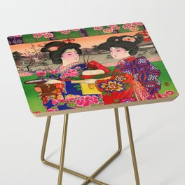 Two Geishas Side Table