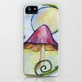 Magical Mushrooms iPhone Case
