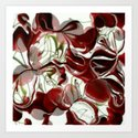 cherry swirl collage by lilbudscorner