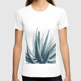 Agave Blue Vibe #1 #tropical #decor #art #society6 T-shirt