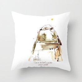 MOLEHILL Throw Pillow