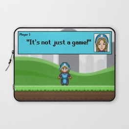 It's not just a Game! [Female Version 1] Laptop Sleeve