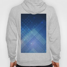network concepts  blue abstract background digital art creative 3D art globes social network technol Hoody