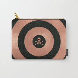 Rose Gold Target Carry-All Pouch