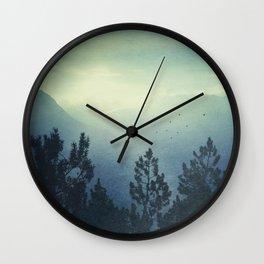 Waking Country Wall Clock