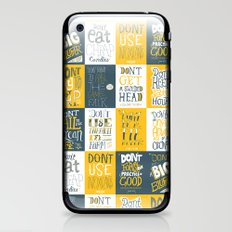 Major Taylor Grid iPhone & iPod Skin