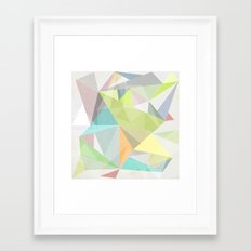Nordic Combination 11 Framed Art Print