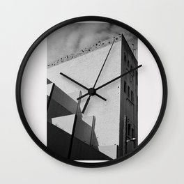 Urban Geometry Wall Clock