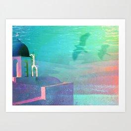 Aegean Sea Art Print