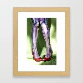Reanimated Legs Framed Art Print