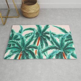 Coconut Trees #society6 #decor #buyart Rug
