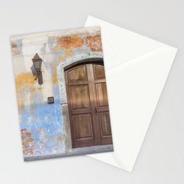 Colonial Façade in Antigua Guatemala Stationery Cards
