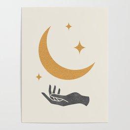 Moonlight Hand Poster