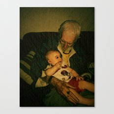 4 generations  Canvas Print