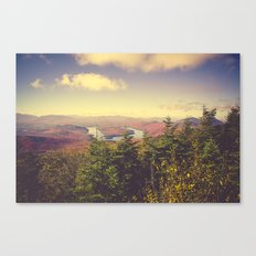Endless Mountains Forever Wild Canvas Print