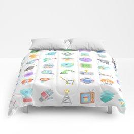 CUTE SCIENCE / SPACE / SCI-FI PATTERN Comforters