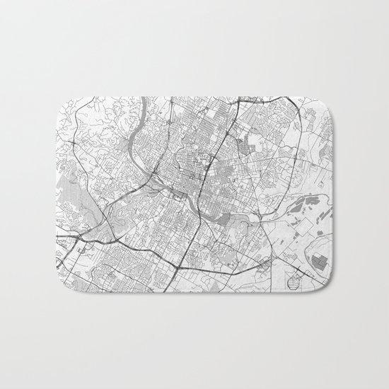 Austin Map Line Bath Mat