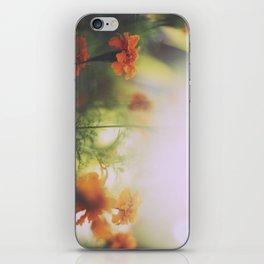 Marigolds in Ubud iPhone Skin