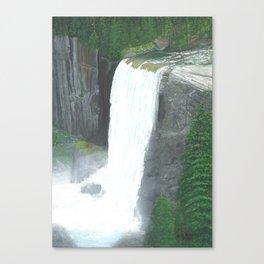 Vernal Fall Yosemite Canvas Print