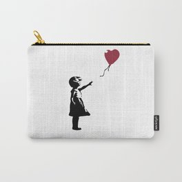 Girl With Red Balloon, Banksy, Streetart Street Art, Grafitti, Artwork, Design For Men, Women, Kids Carry-All Pouch