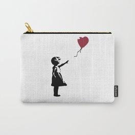 Girl With Red Balloon, Banksy, Streetart Street Art, Grafitti, Artwork, Design For Men, Women, Kids Carry-All Pouch
