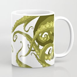 Subterranean - Green Tentacle Coffee Mug