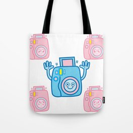 We are watching you. Say Cheese!!! Tote Bag