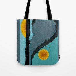 Turquoise Twelve Tote Bag
