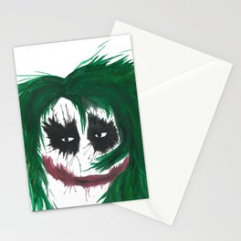 The Joker. Why so serious? Stationery Cards