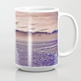 Frozen Mirror Lake Coffee Mug