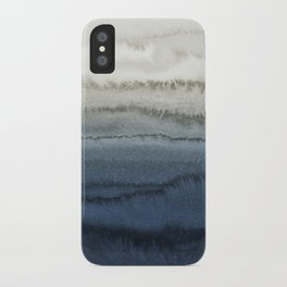 WITHIN THE TIDES - CRUSHING WAVES BLUE iPhone Case