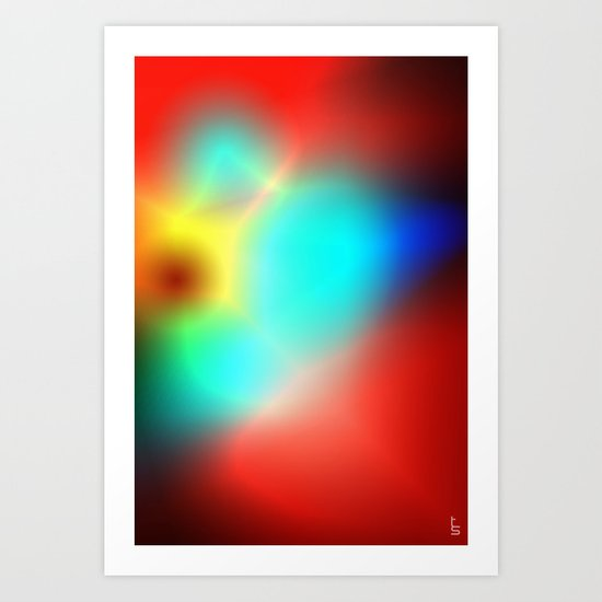 Color Heat Art Print