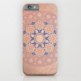 Colorful Illuminated Shamsa India iPhone Case