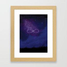 Infinity freedom Framed Art Print