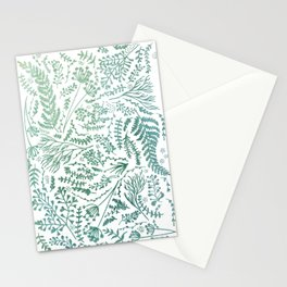GREEN HERBS Stationery Cards