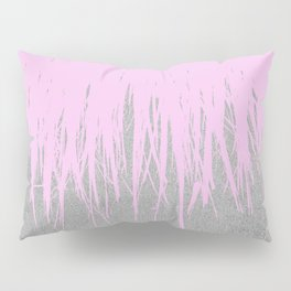 Concrete Fringe Blush Pillow Sham