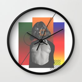 """""""六尘""""——Liu Chen 5 Wall Clock"""