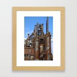 Bethlehem Steel Blast Furnace 3 Framed Art Print