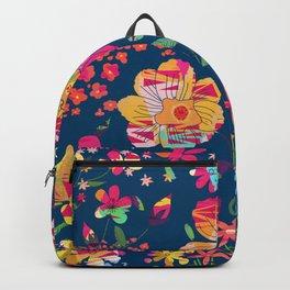 Paper Floral Backpack