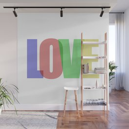 Love (Color) Wall Mural